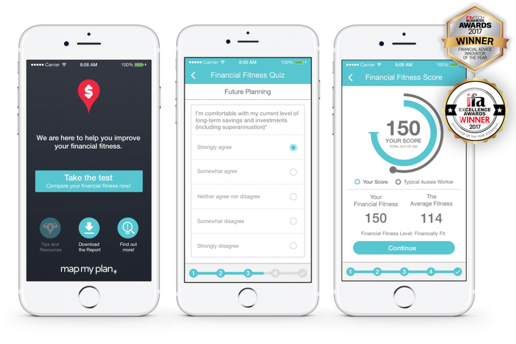 Financial Fitness UI Screens 2
