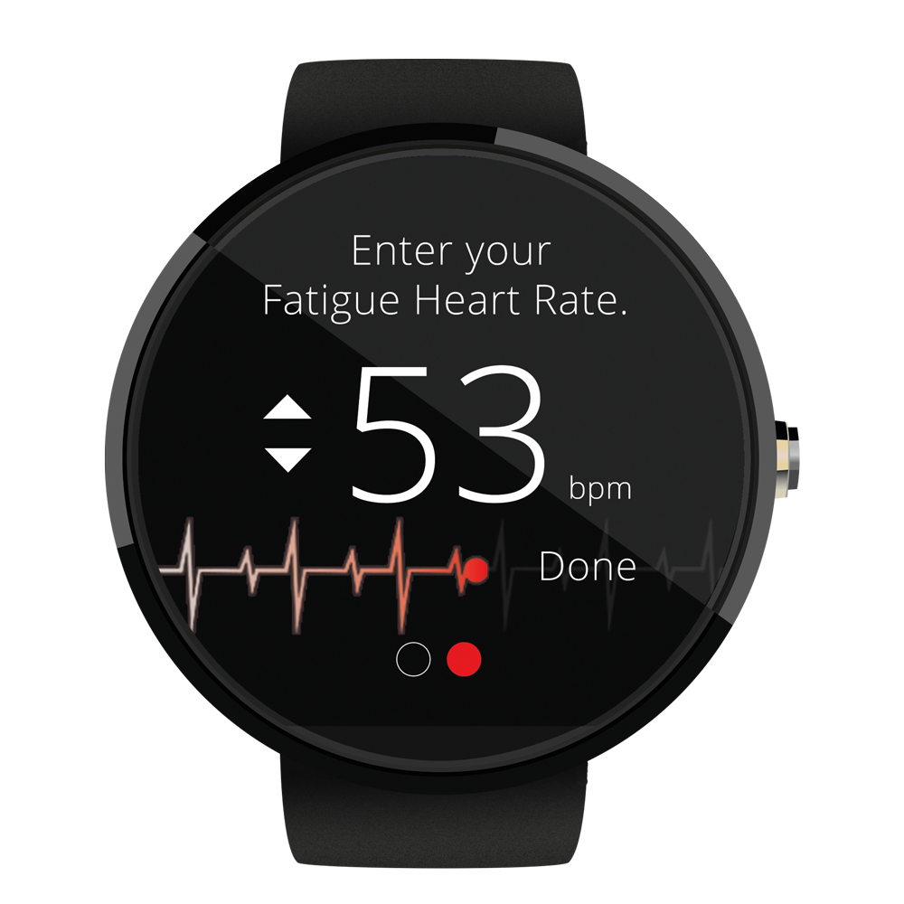 Set Fatigue Heart Rate